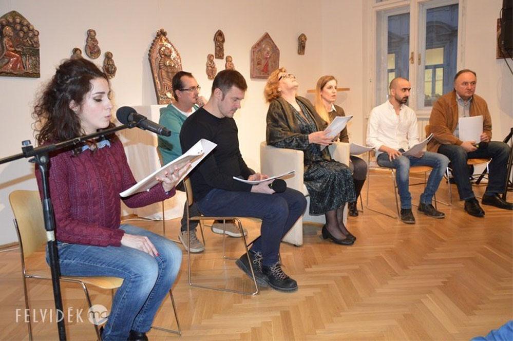 Felolvasóest Pozsonyban (fotó: Dunajszky Éva/Felvidék.ma)